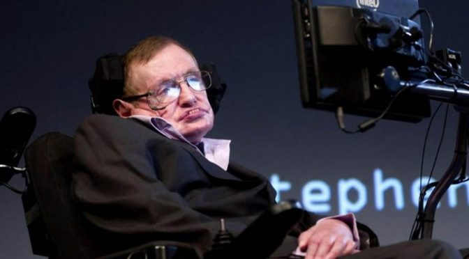 It would suck to be Stephen Hawking right now