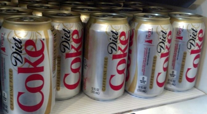 Oh great: More panicky nonsense about how 'science' says diet soda will kill us