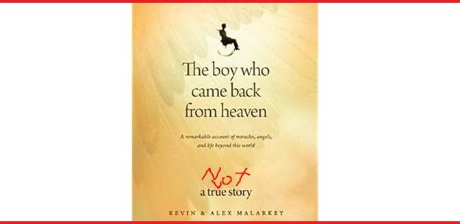 'Boy Who Came Back From Heaven' now says he didn't, and is suing over the exploitation of his name